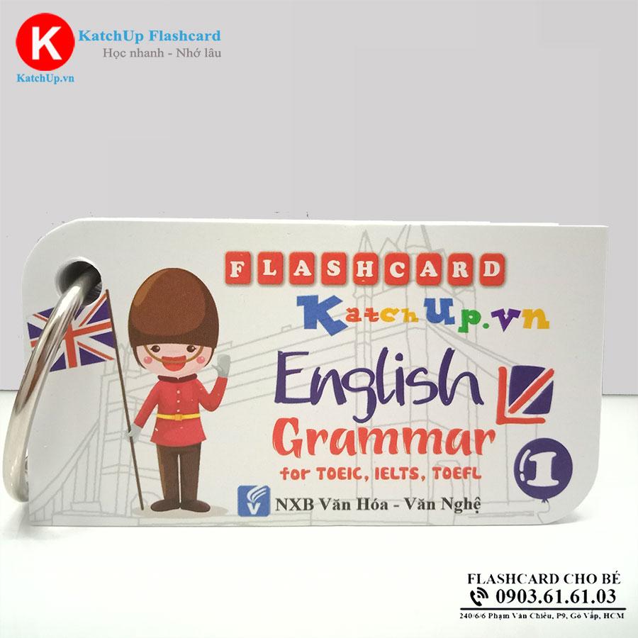 Bộ KatchUp Flashcard NGỮ PHÁP tiếng Anh - High Quality