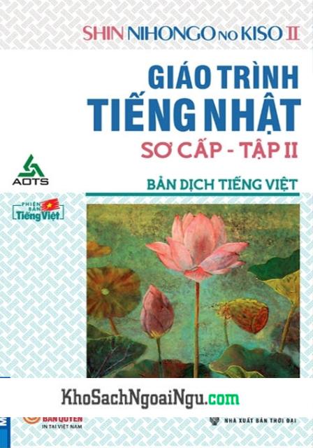 Giáo Trình Shin Nihongo no Kiso Sơ Cấp2 – Bản Dịch Tiếng Việt