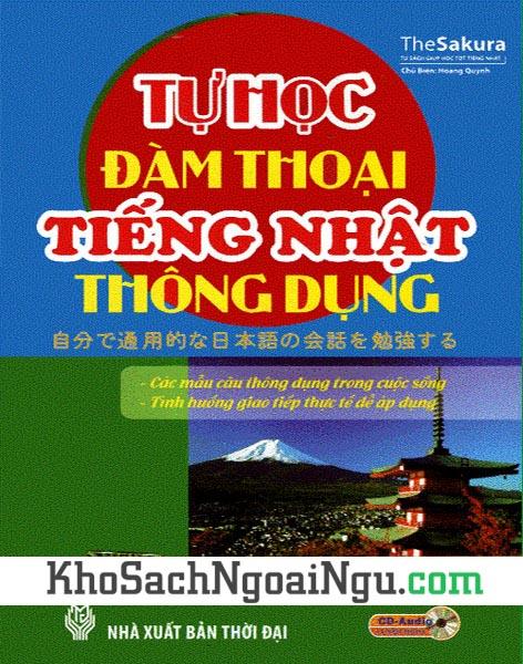 Sách Tự học đàm thoại tiếng Nhật thông dụng (Kèm CD)