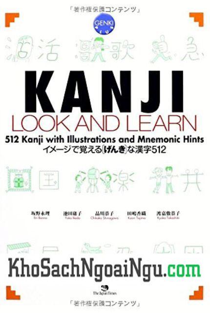 Kanji Look and Learn N5, N4 Bài học – Bản Nhật Anh