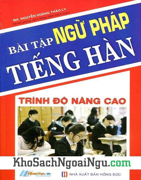 Sách Bài tập ngữ pháp tiếng Hàn