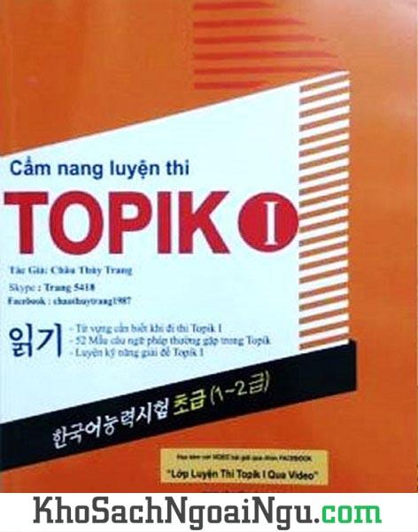 Sách Cẩm nang luyện thi Topik I Châu Thùy Trang