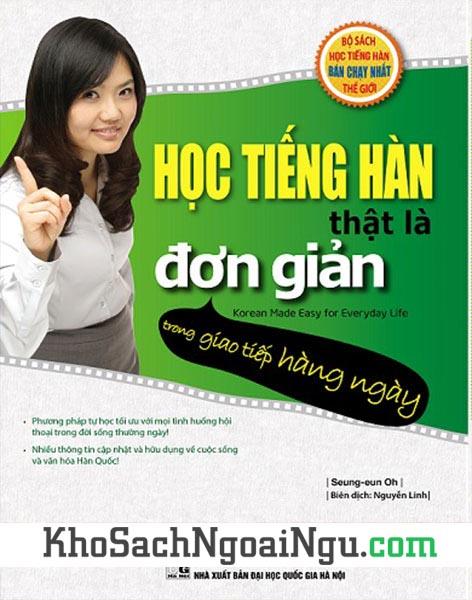 Sách Học tiếng Hàn thật là đơn giản