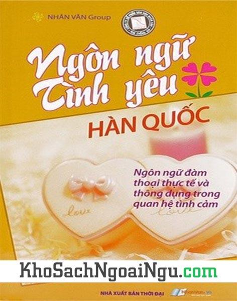 Sách Ngôn ngữ tình yêu Hàn Quốc