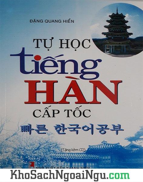 Sách Tự học tiếng Hàn cấp tốc