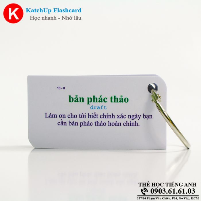 Bộ Flashcard KatchUp Design and Innovation - Best Quality (16B)