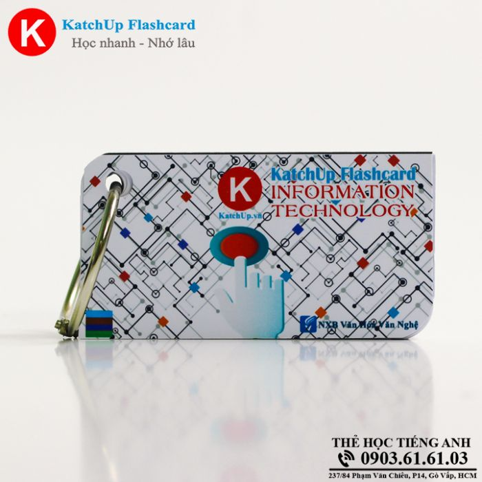 Flashcard KatchUp - Information Technology - Best Quality (17B)