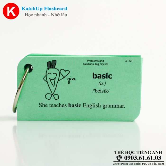 Flashcard-KatchUp-Problems-and-solutions-big-city-life-High-Quality-Xanh