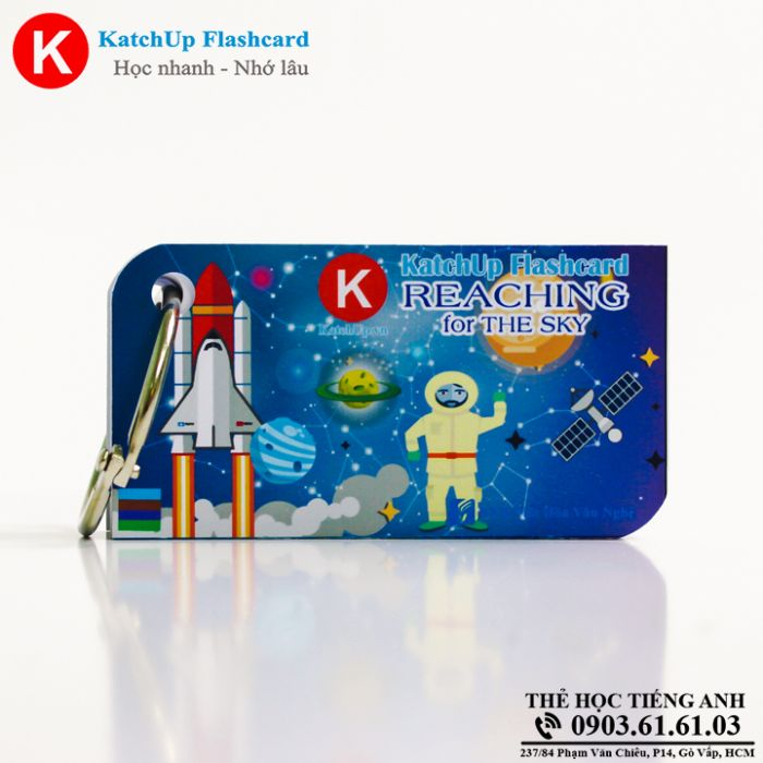 Bộ Flashcard KatchUp - Reaching for the skies - Best Quality (15B)