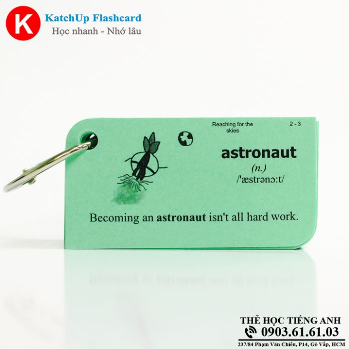 Flashcard-KatchUp-Reaching-for-the-skies-High-Quality-Xanh