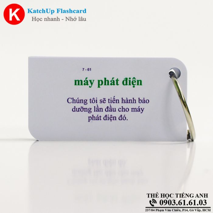 Bộ Flashcard KatchUp - The energy crisis - Best Quality (21B)