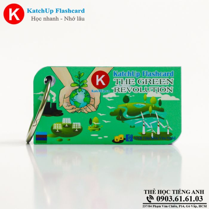 Flashcard-KatchUp-The-green-revolution-High-Quality-Xanh