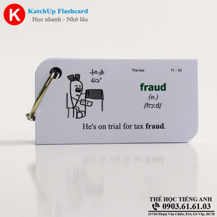 Flashcard KatchUp - The law - Standard (23S)