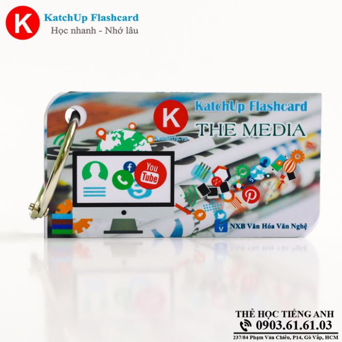 Bộ Flashcard KatchUp - The media - Best Quality (24B)
