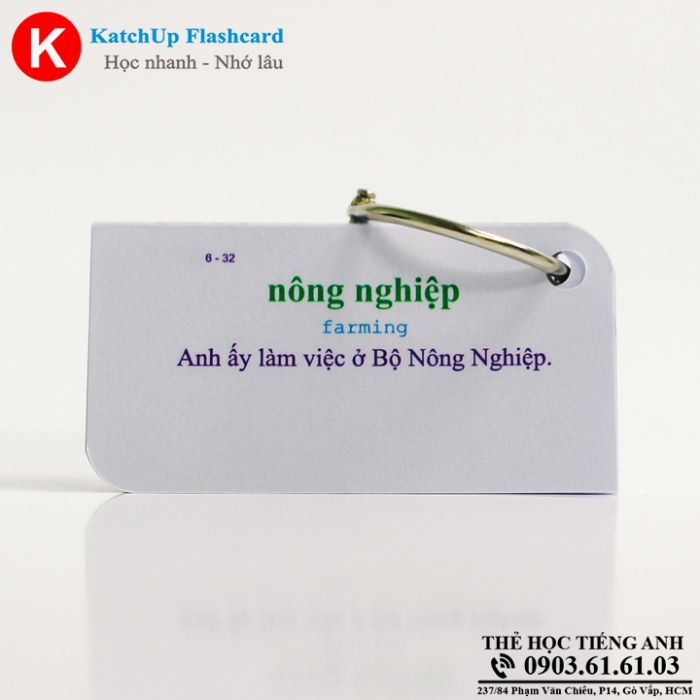 Bộ Flashcard KatchUp - The natural world - Best Quality (14B)