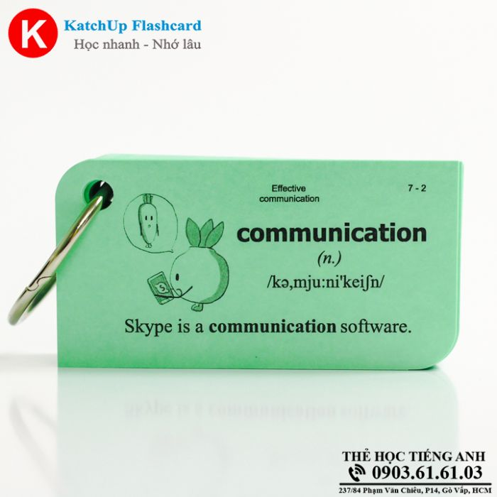 KatchUp-Flashcard-Effective-communication-High-Quality-Xanh