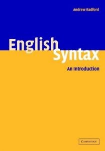 English Syntax An Introduction